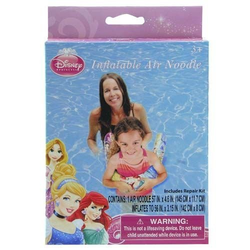 Princess Inflatable Swimming Pool Air Noodle for Kids - 1