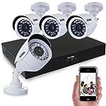 ZOSI 8CH CCTV System Kit 960H Recordi...