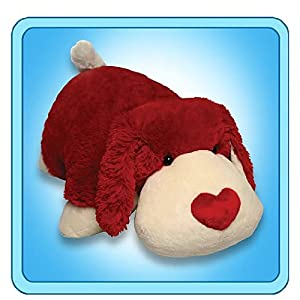 "My Pillow Pets Luv Pup 18"" Large (Red and white) from My Pillow Pets"