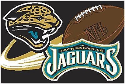 Jaguars Northwest NFL Tufted Rug