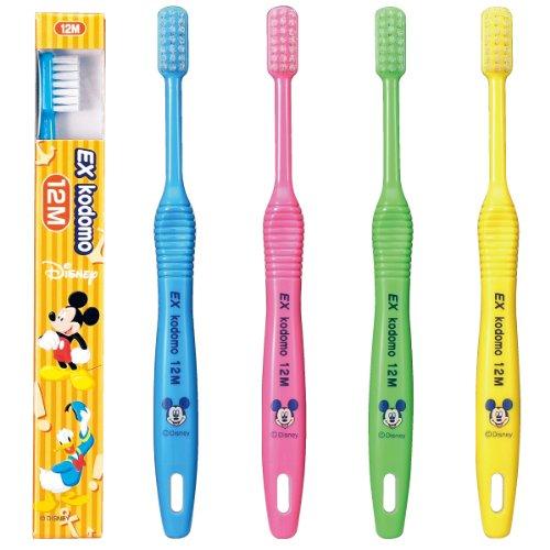 EX kodomo ディズニー 歯ブラシ 12 M 4本入り
