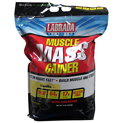 Labrada Muscle Mass Gainer Vanilla 12 lbs