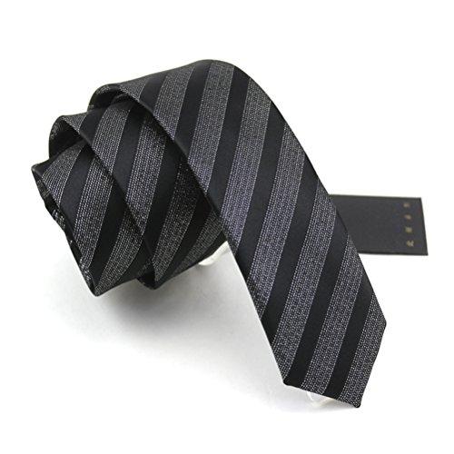 fan-tastik-herren-umweltfreundlich-mode-diagonale-gestreifte-dunne-krawatte-22-55cm-
