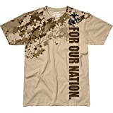 7.62 Design Men's T Shirt USMC 'For Our Nation'