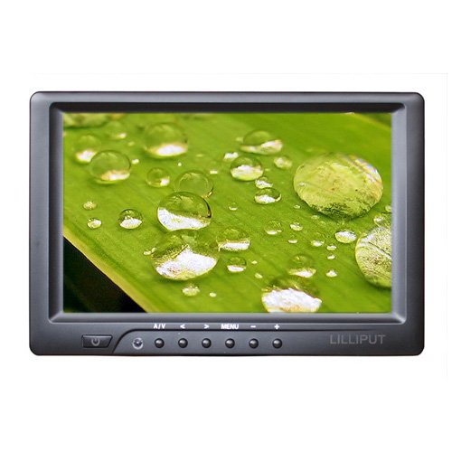 Lilliput 7″ 669gl-70np/c-hb on Camera Feild Monitor W/hdmi ,Dvi,highbrightness Monitor By Viviteq Inc (No Battery,no Touch)