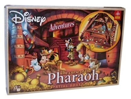 Disney THE CURSE OF THE PHARAOH Jeux de Société Spatial