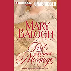 First Comes Marriage: Huxtable Series, Book 1 | [Mary Balogh]
