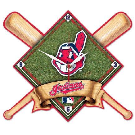 MLB Cleveland Indians High Definition Clock