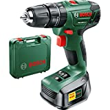Advanced Bosch POWER4ALL PSB 1800 LI-2 18v Cordless 2 Speed Combi Drill with 1 Lithium Ion Battery 1.5ah [Pack of 1] --