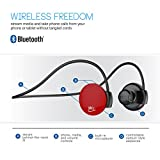 MEElectronics Air-Fi® Journey AF16 Ultra Portable Stereo Wireless Headset (Red)