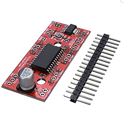 10Pcs A3967 V44 EasyDriver Stepper Motor Driver Development Board