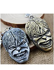 High Quality Metal HULK FACE Keychain Or Car Hanging