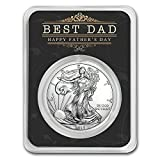 2018 1 oz Silver American Eagle - Happy Father's Day - Best Dad 1 OZ Brilliant Uncirculated