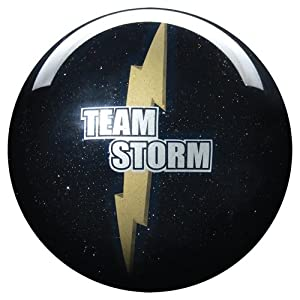 Storm Team Clear Black Sparkle ( 15 )