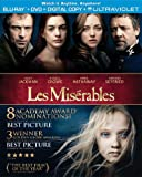 DVD - Les Miserables (Blu-ray + DVD + Digital Copy + UltraViolet)