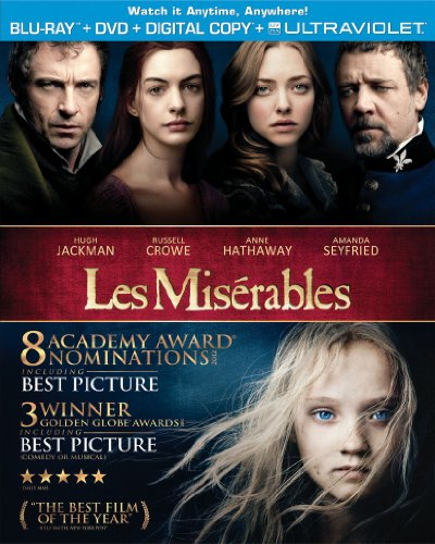 Les Miserables (2012) (Blu-ray + DVD + Digital Copy + UltraViolet)