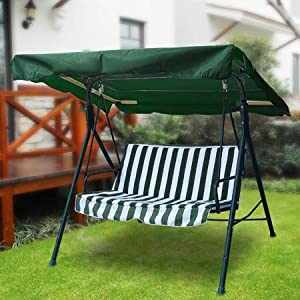 outdoor replacement swing canopy cover top porch patio seat furniture