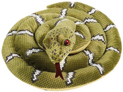 "Geographics National ""Serpent Animaux En Peluche Jouet en peluche (Taille moyenne, naturel)"