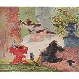 "Kunstdruck (Paul C�zanne - Olympia) als Poster, Leinwandbild, Dibondbild oder auf Acrylglas in verschiedenen Formatenvon ""bilder-bilderrahmen.de"""