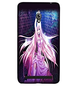 ASUS ZENFONE 6 A601CG BEAUTIFUL GIRL Back Cover by PRINTSWAG