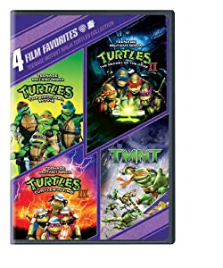 4 Film Favorites: Teenage Mutant Ninja Turtles (Teenage Mutant Ninja Turtles, Teenage Mutant Ninja Turtles 2, Teenage Mutant Ninja Turtles 3, TMNT)
