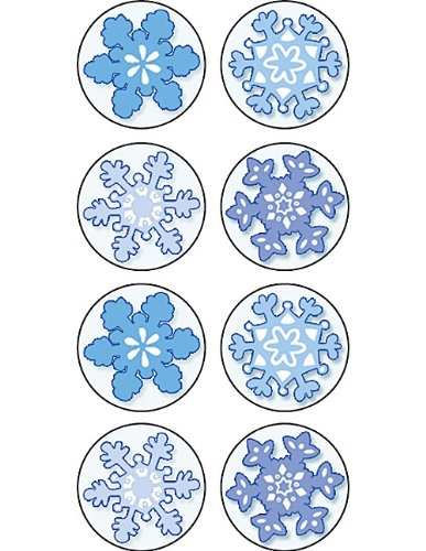 Teacher Created Resources Winter Mini Stickers, Multi Color (5770)