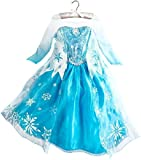 Frozen-Inspired Ice Queen Elsa Dress (5-6)