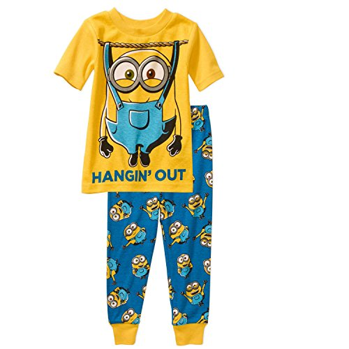 Despicable-Me-Minions-Pajama-Sleepwear-Set-Tight-Fit-Little-Boys-4T
