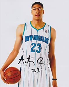 Anthony Davis Autographed Hand Signed New Orleans Hornets 8x10 Photo - 2012 #1... by Real+Deal+Memorabilia