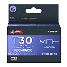 Arrow Fastener 305IP Genuine T30/T32 5/16-Inch Staples, 5,000-Pack
