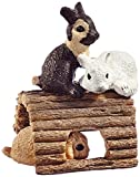 Schleich Baby Rabbits Playing