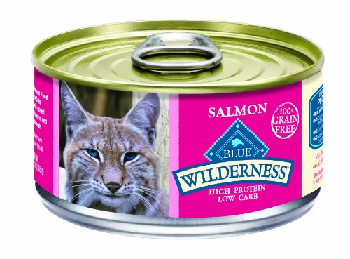 BLUE Buffalo Wilderness Salmon Recipe For Adult Cats