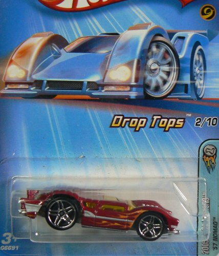 2005 First Editions Drop Tops #2 '57 Nomad Blue Stripe PR-5 Wheels #2005-22 Collectible Collector Car Mattel Hot Wheels