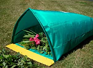 """Large Yard Dustpan attaches to Plastic Lawn and Leaf Trash Bags or Reusable Garden Bag, Bag Holder - Rake """"n"""" Sweep"""