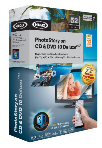 MAGIX PhotoStory on CD & DVD 10 deluxe