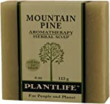 Mountain Pine 100% Pure & Natural Aromatherpay Herbal Soap- 4 oz (113g)