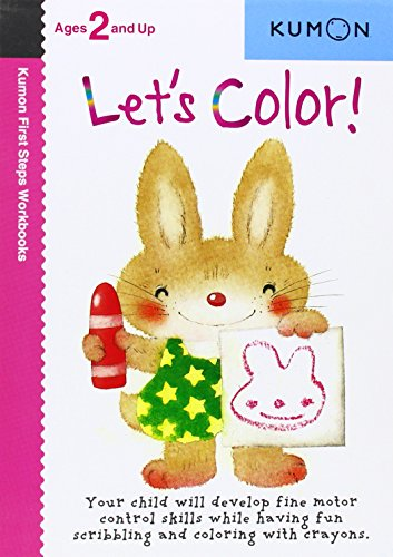 Let's Color!  (Kumon First Step Workbooks) (Preschool Color And Activity Book compare prices)