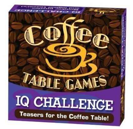 Iq Challenge - Coffee Table Games By Cheatwell