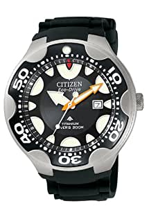 Amazon.com: Citizen Men's BN0015-15E Eco-Drive 200 Meter