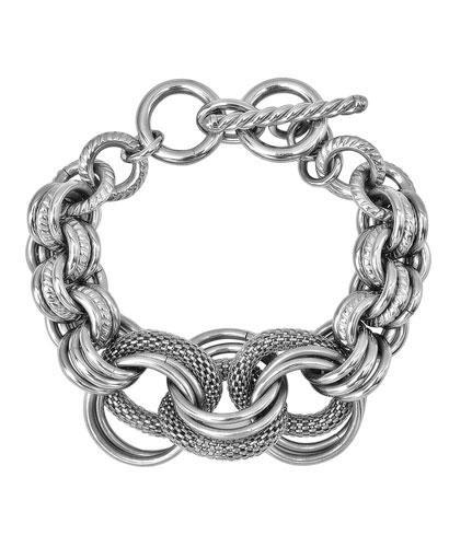 Inox Stainless Steel Chunky Bracelet