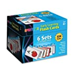 Early Learning Flash Cards: 6 Sets of...