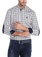 SIR RAYMOND TAILOR Camisa Hombre (Marrón / Negro)