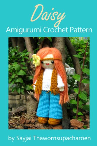 Daisy Amigurumi Crochet Pattern