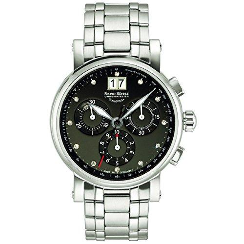 Bruno Söhnle Women's Quartz Watch with Silver Armida Chronograph Quartz Stainless Steel 1713115Satellite