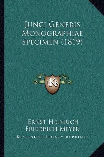 Junci Generis Monographiae Specimen (1819)