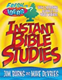img - for Instant Bible Studies (Fresh Ideas Resource) book / textbook / text book