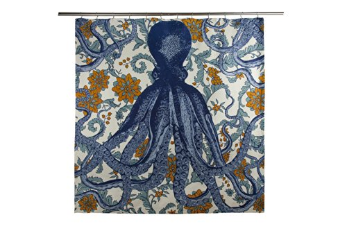 thomaspaul Octopus Vyard Shower Curtain