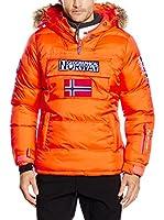 Geographical Norway Chaqueta Guateada Baba (Naranja)