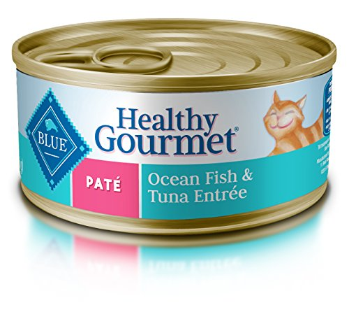 BLUE Buffalo Healthy Gourmet Ocean Fish & Tuna Entrée For Adult Cats