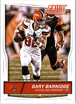 2016 Score #81 Gary Barnidge Cleveland Browns Football Card